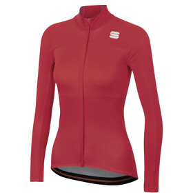 Sportful Bodyfit Pro Thermische Jersey Dames, red rumba/bubble gum